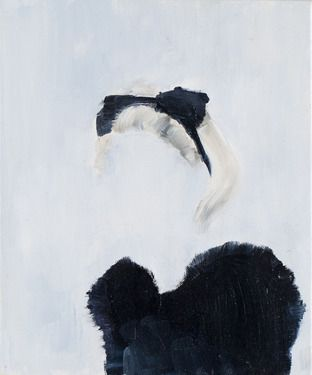 "Kristina Alisauskaite; Oil 2011 Painting ""Don't ask II"""