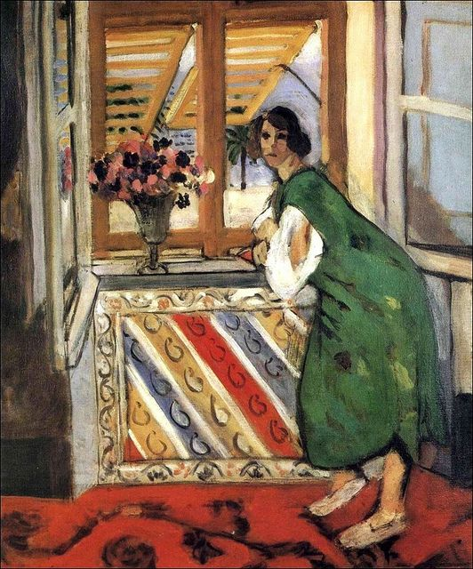 Young Girl in a Green Dress, 1921-Henri Matisse